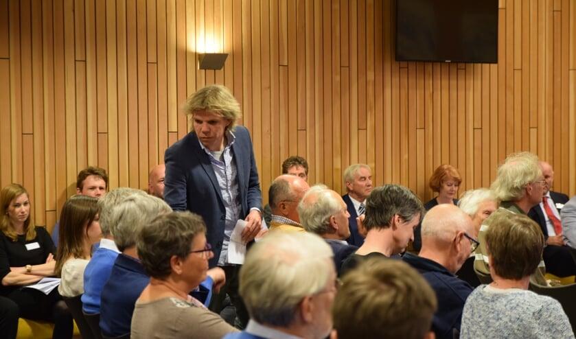 Leendert Beekman ontmoette weinig enthousiasme.   Foto: Esther Luijk