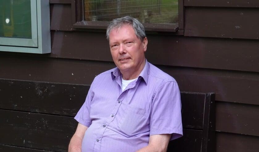 Aad Rijntalder is met pensioen maar nog vaak te vinden in de Houtkamp en de heemtuin.