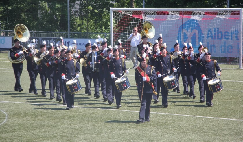 St, Cecilia tijdens het try-out concours in Klundert in 2017. | Foto: pr.