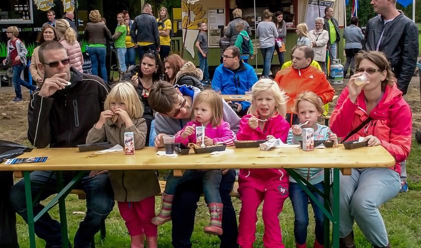 De Leiderdorpse Vriendenfeesten zijn een feestje voor het hele gezin. | Archieffoto