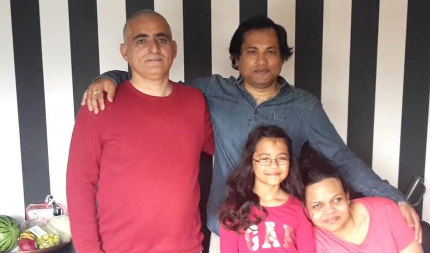 Samer en Abijit vonden elkaar via BUUV.    Foto: PR