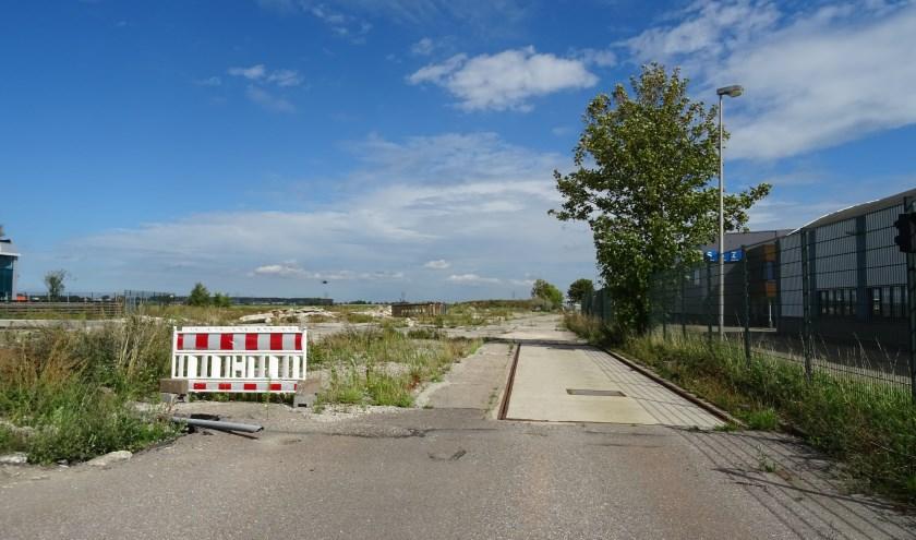 Het terrein waar tot twee jaar geleden afvalverwerkingsbedrijf Vliko (nu Renewi) was gevestigd.