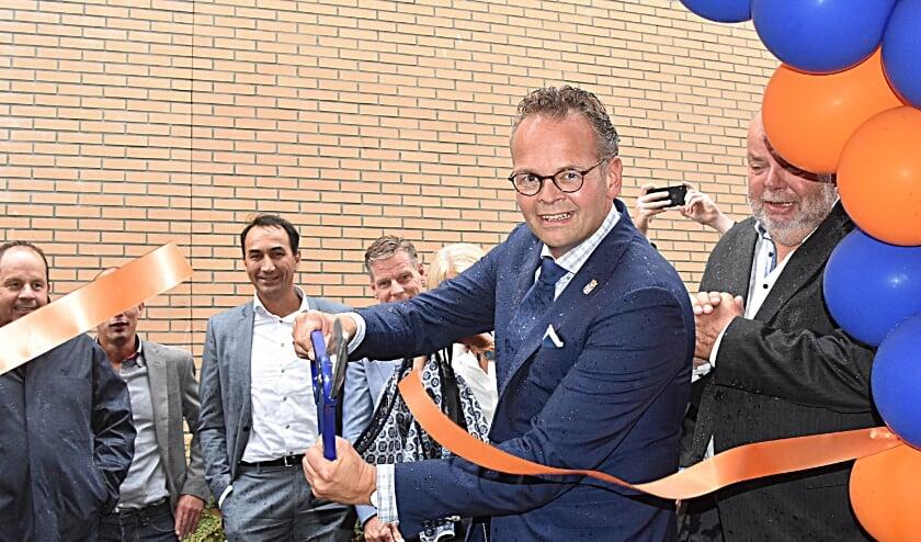 <p>De opening van de RTV Katwijk studio</p>