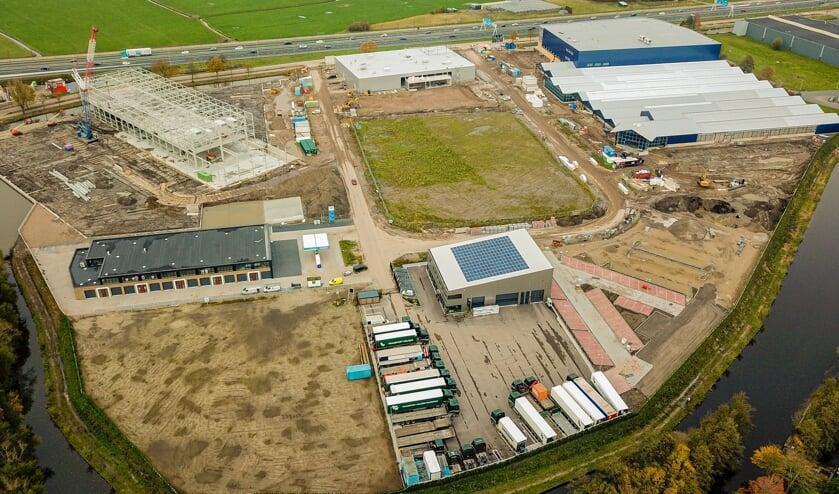 De ontwikkeling van bedrijventerrein De Boeg vordert gestaag.
