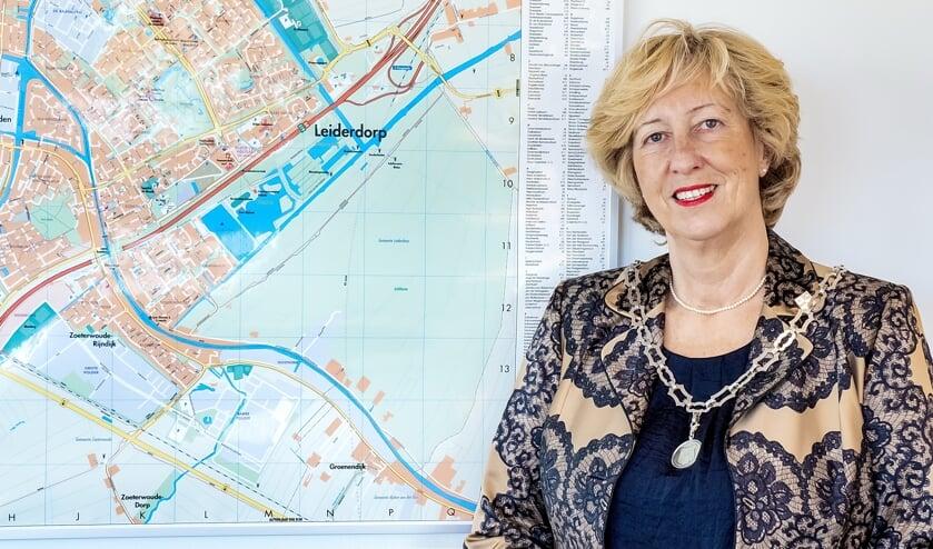 <p>Burgemeester Laila Driessen-Jansen. | Foto: J.P. Kranenburg</p>