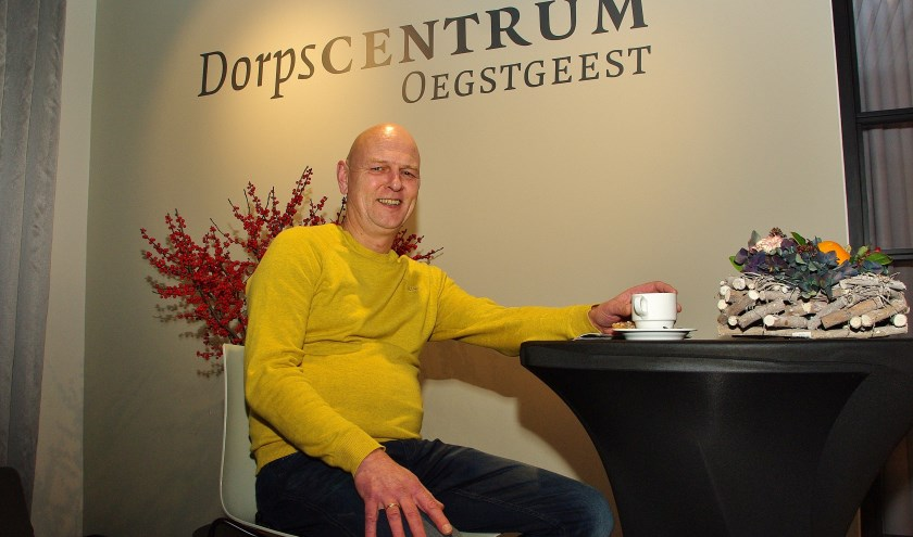 Ruud Brouwer voelt zich als een vis in het water in Dorpscentrum Oegstgeest.