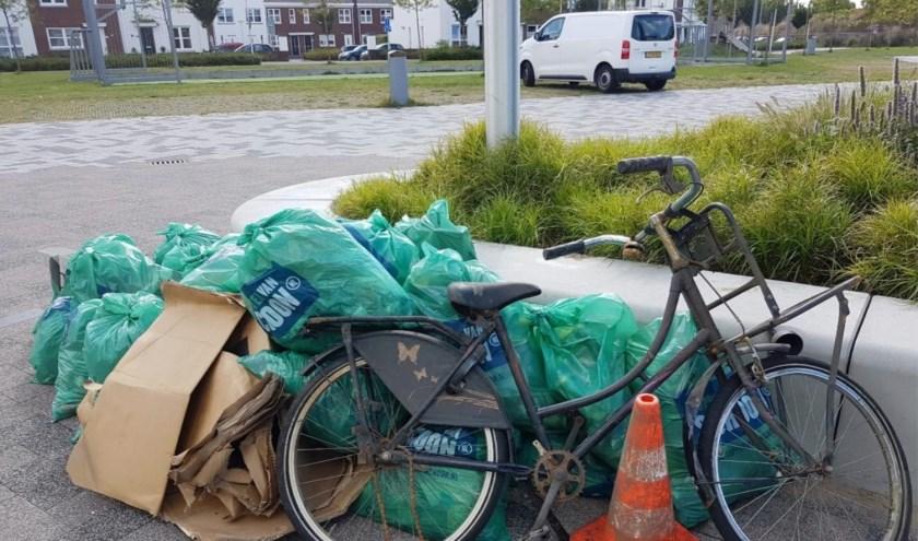 De gemeente gaat extra toezien op dumping van afval. | Foto: pr