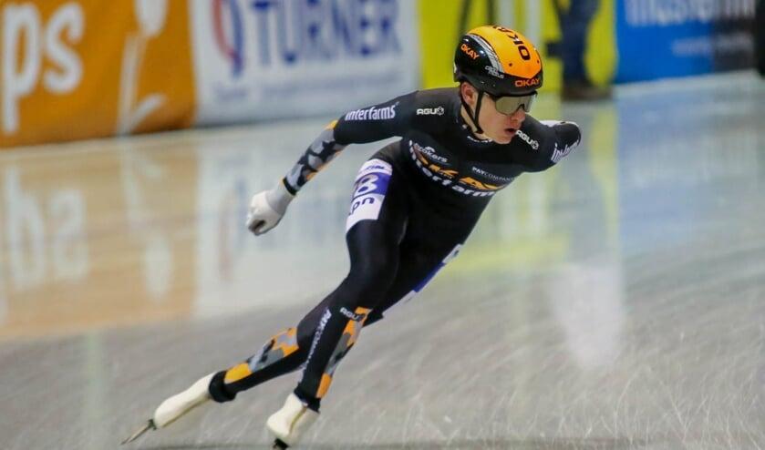 <p>Yves Vergeer in actie tijdens het afgelopen seizoen.&nbsp;</p>