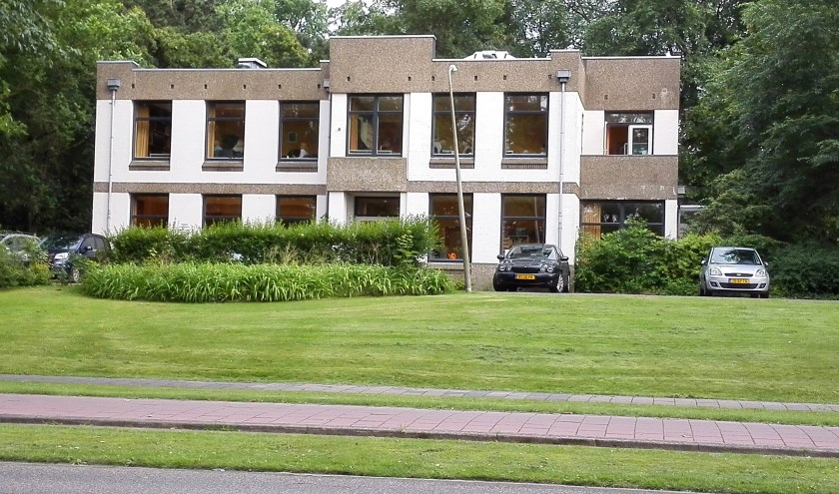 De gemeentelijke Muziekschool aan de Zeeweg.