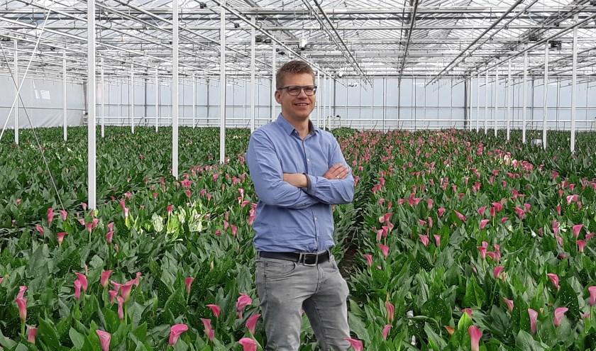 Martijn Bentvelzen, productmanager van onder andere Calla.