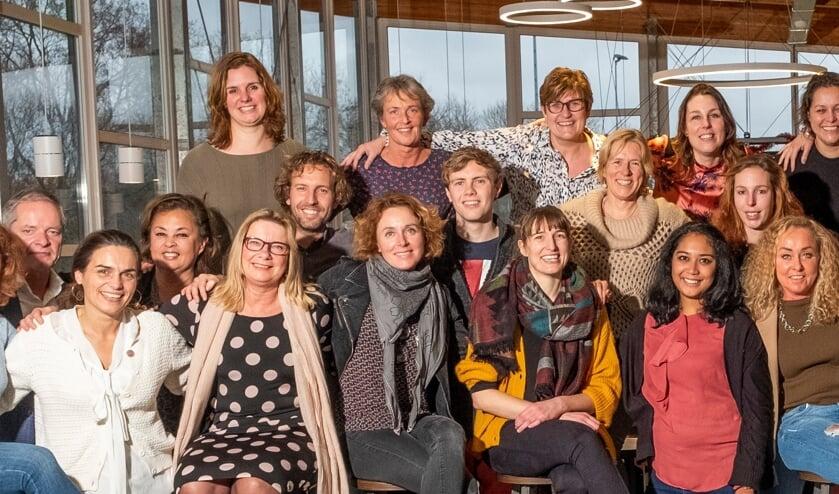 Een deel van het team van Incluzio Leiderdorp.