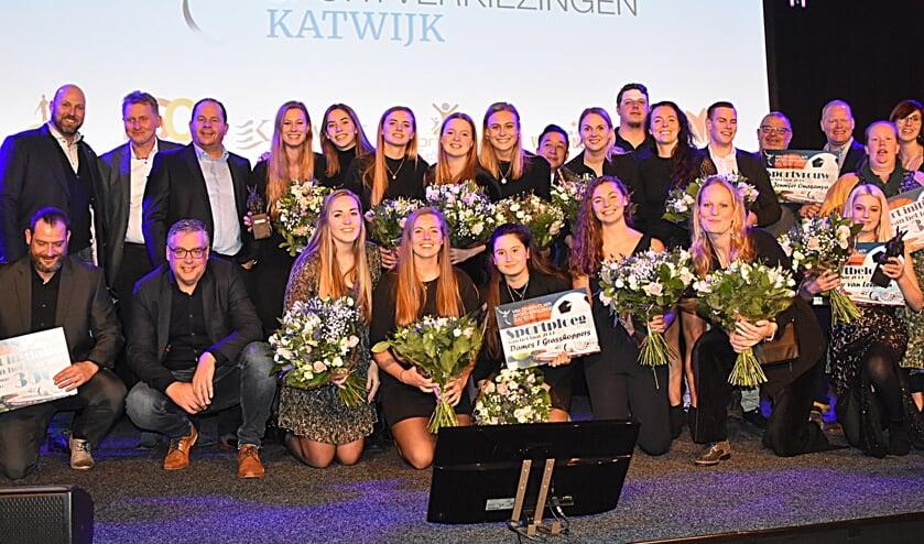 <p>De winnaars van de Sportverkiezingen op een rijtje. | Foto en tekst: Piet van Kampen</p>