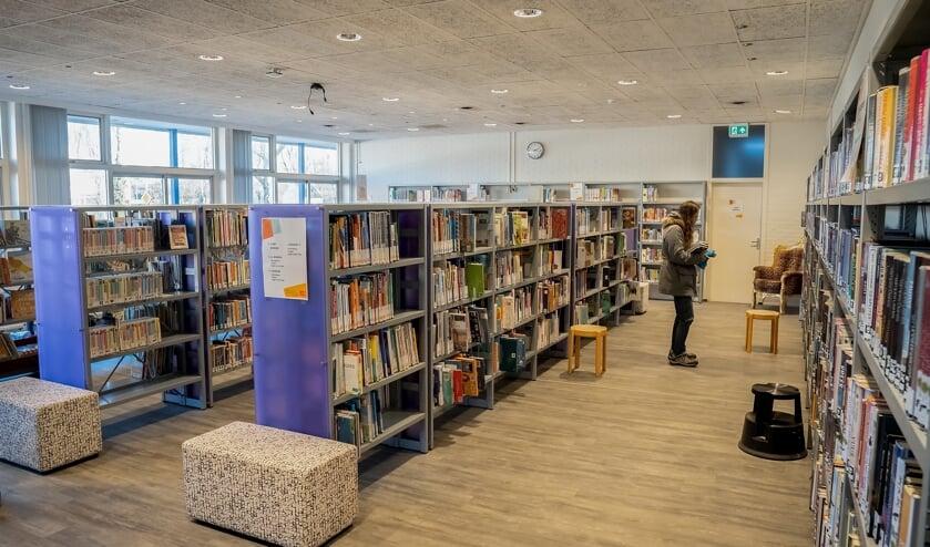 De Leuiderdorpse bibliotheek in gebouw De Werf.