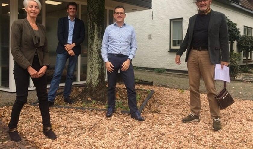 <p>Eveline Botter, Paul van der Kooy, Rolf van den Bosch en Epco Boerema.</p>