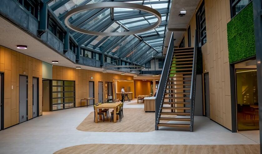 Het vernieuwde atrium van De Sterrentuin.   Foto: J.P. Kranenburg