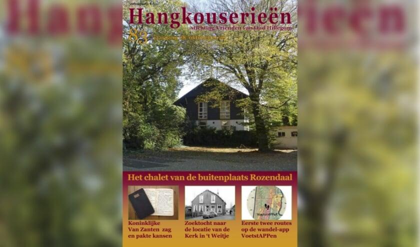 <p>Hangkouserie&euml;n 83 komt volgende week uit.</p>