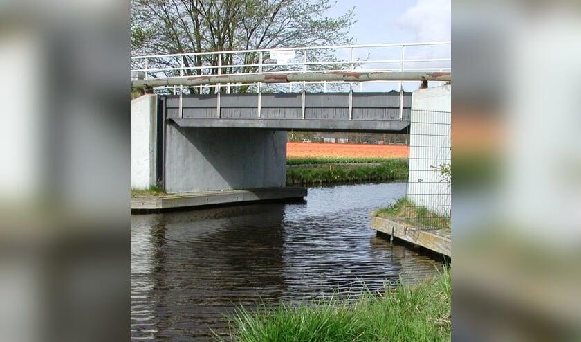 <p>De Veenenburgbrug met unieke jaagpaden eronder.</p>