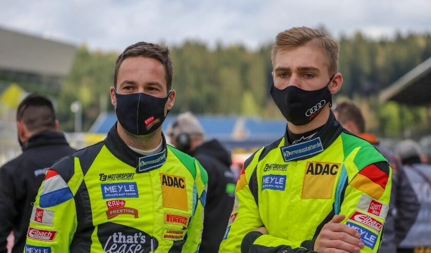 Niels Langeveld en Maximilian Paul. | Foto: pr.