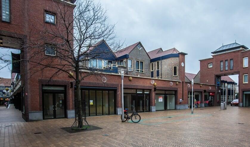 Op het Emmaplein is genoeg ruimte voor een bibliotheekvestiging.   Foto: Adrie van Duijvenvoorde