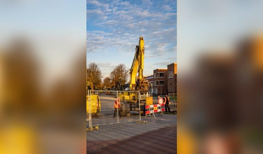 <p>Het werk aan de Ericalaan duurt naar verwachting tot eind maart 2021.   Foto: J.P. Kranenburg</p>