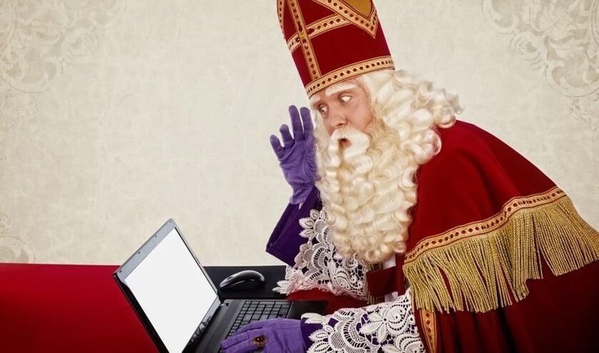 Sinterklaas is benieuwd hoeveel kinderen hem een tekening of knutselwerk zullen sturen!