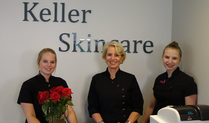<p>Cheyenne Vlottes, Yvonne Keller en Anke Keller. Yvonne: &#39;Ik vind het geweldig om met mijn meiden samen te werken!&#39;. | Foto: pr.&nbsp;</p>