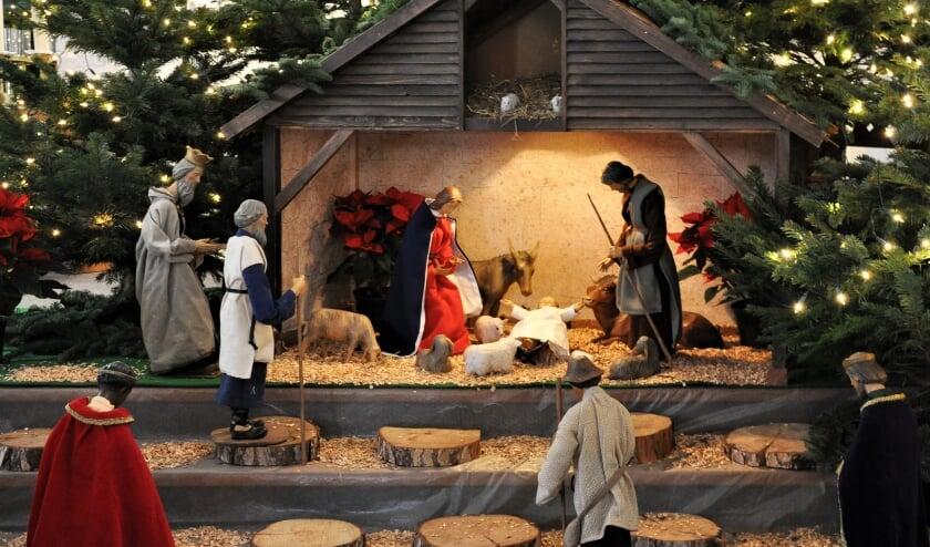 <p>&quot;Kerst 2020; er is meer dan genoeg plaats in de kerk/herberg en toch is de deur dicht.&quot; | Foto: pr.&nbsp;</p>