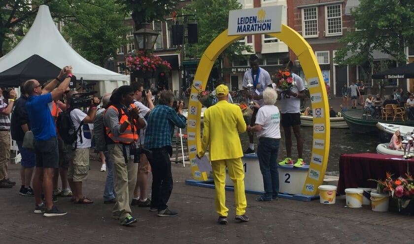 <p>Velen kijken weer uit naar de Leiden Marathon</p>