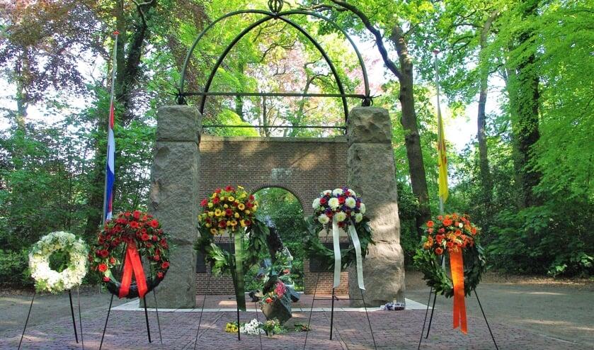 <p>Ook in 2020 vond er geen gezamenlijke herdenking plaats in het Bos van Wijckerslooth. | Archieffoto </p>