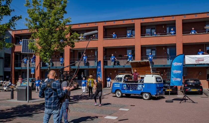 <p>De Nationale Balkon Beweegdag 2020 op de Brandwacht in Leiderdorp.</p>