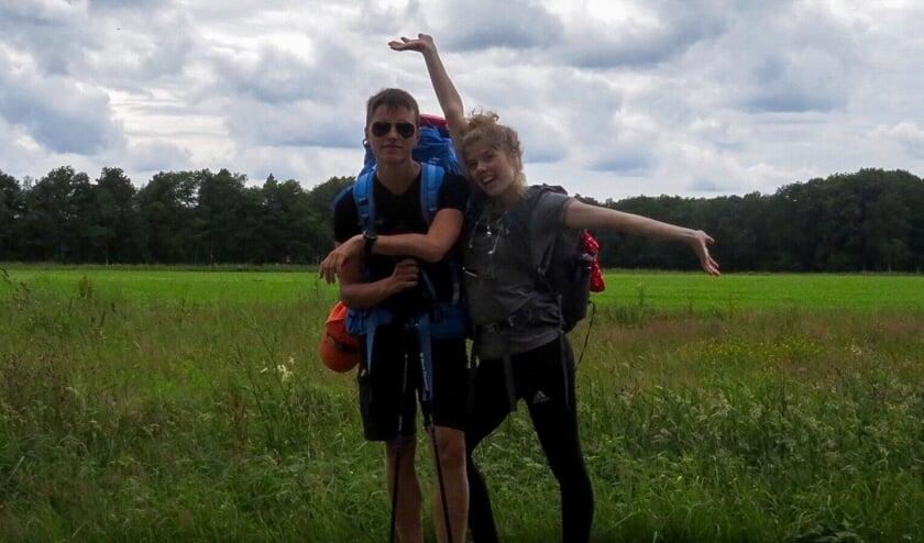 Mieke en Aaron houden de moed erin. | Foto: PR