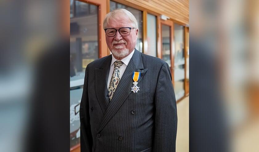 <p>Jan-Albert Dop ontving in juli 2020 zijn ridderorde.</p>