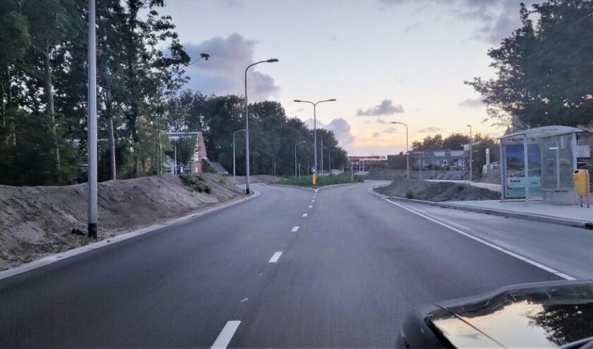 Het uitnodigende nieuwe asfalt op de Biltlaan.   Foto: pr