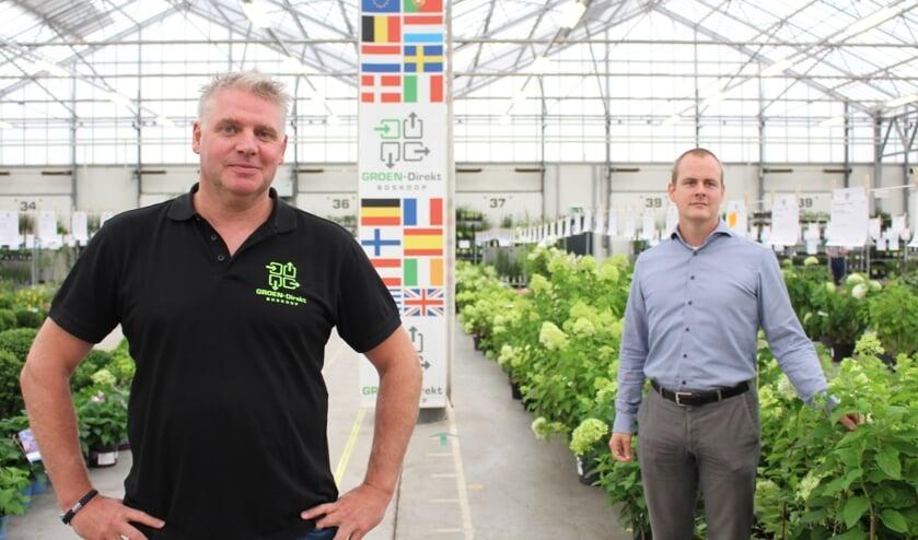 Taaf Rosbergen (directeur GROEN-Direkt) en Sytse Berends (woordvoerder).