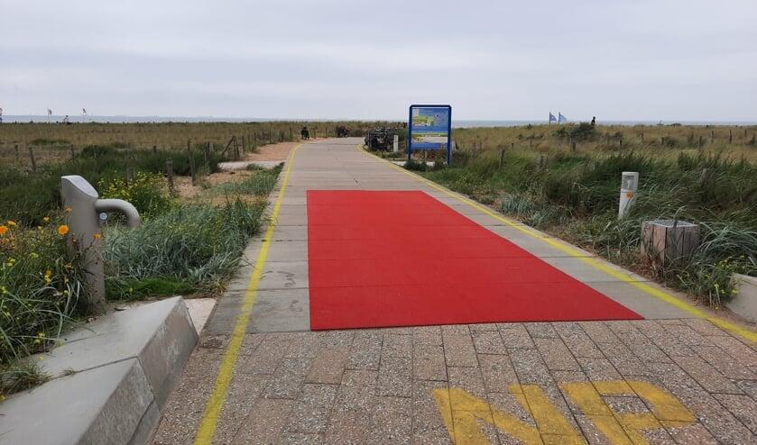 'Ongewild wordt het signaal van 'Welkom op het strand' afgegeven aan bezoekers.' | Foto: SKvD
