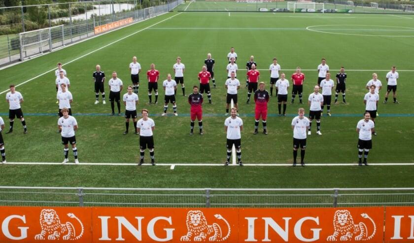 De selectie van RKVV Meerburg.