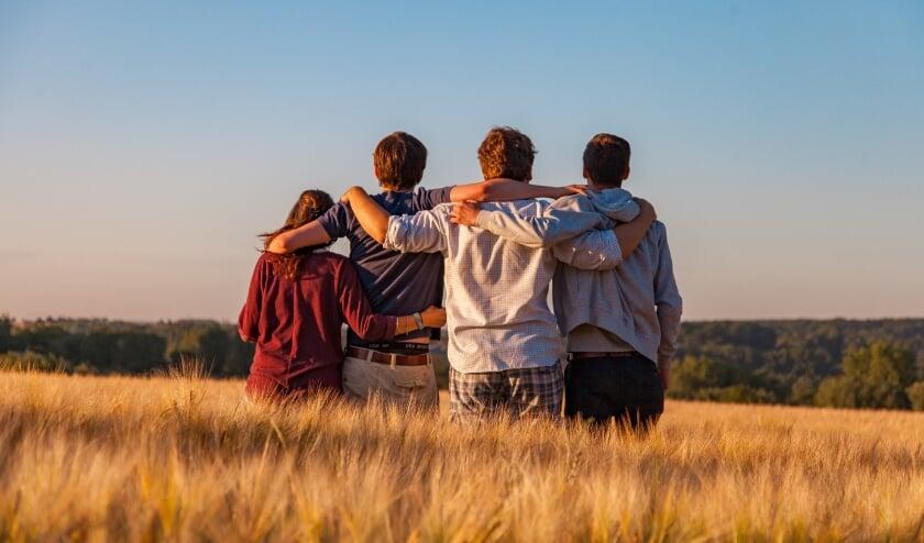 'Praten met lotgenoten hielp om me minder alleen in mijn verdriet te voelen' | Foto: PR