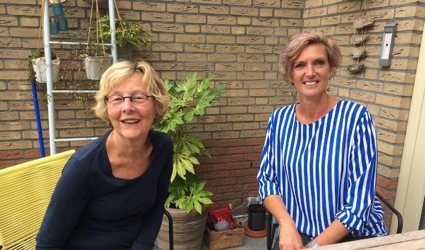 Harriët van der Kooij en Marjan Jager. | Foto: pr