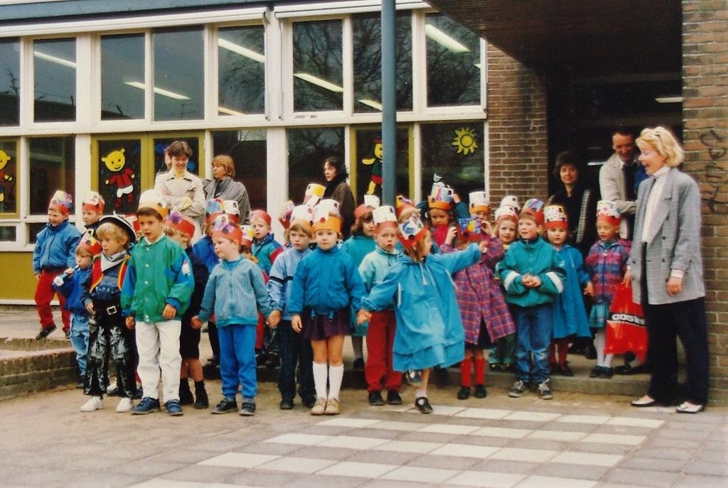 April 1988 - afscheid van de Hazenwei. Foto:  © uitgeverij Verhagen