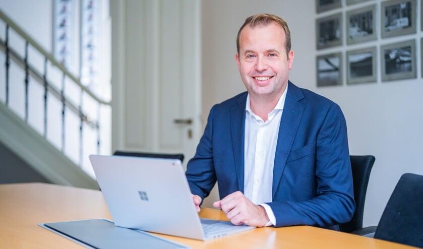 Praktijkopleider Martijn van Pelt.