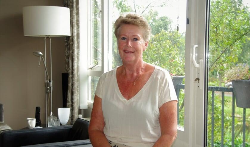 Marga Vos gaat genieten van haar welverdiende pensioen. | Foto Willemien Timmers