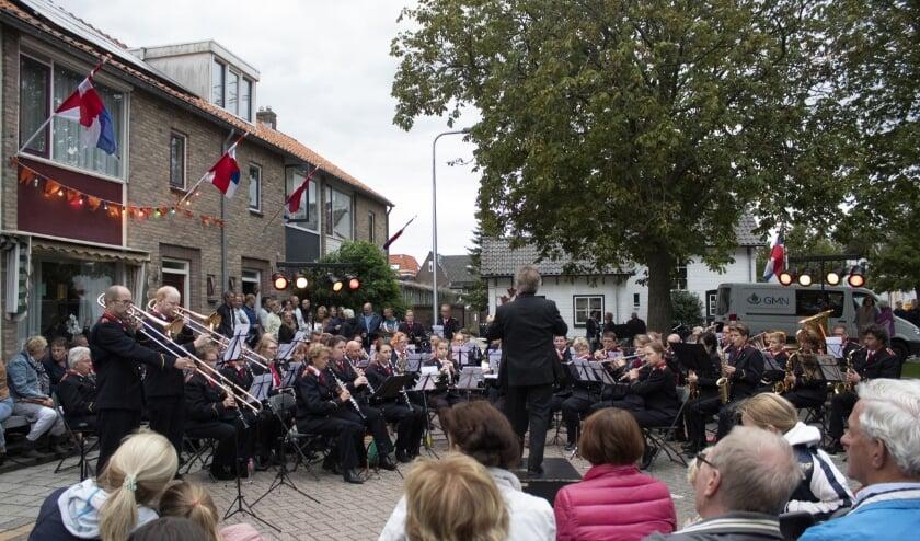 Het concert van St. Cecilia zal anders zijn dan op deze foto, toen muzikanten en publiek nog binnen de anderhalve meter van elkaar mochten zitten.