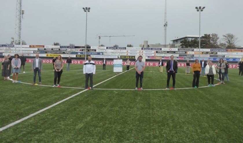 Afgelopen woensdag hebben alle betrokken partijen het Sportakkoord ondertekend.   Foto: Ina Verblaauw
