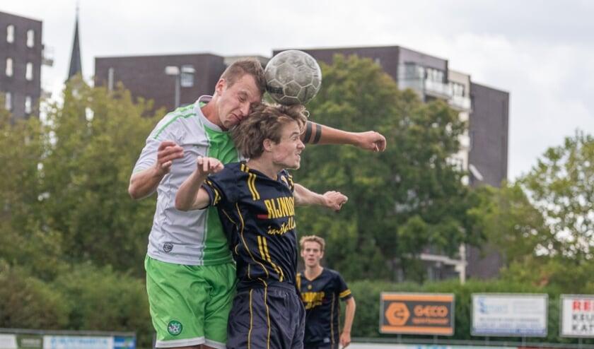 Daan van der Weijden, één van de spelers uit de jeugd die een plek verdiend in het eerste. |