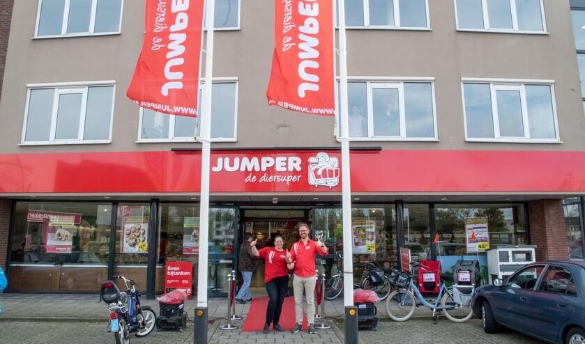 De openingsdag van Jumper, eind oktober 2017.