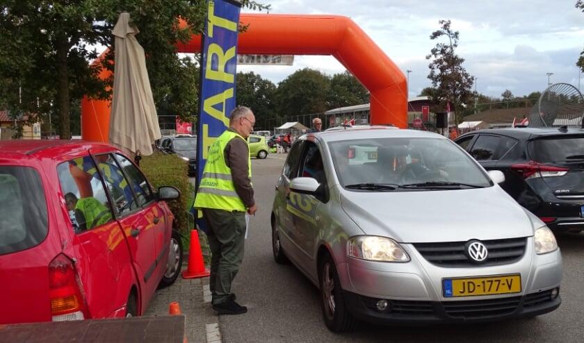 De autopuzzelrit blijft populair: ook dit jaar deed het maximale aantal deelnemers mee. | Foto: pr./Gerard van Steijn