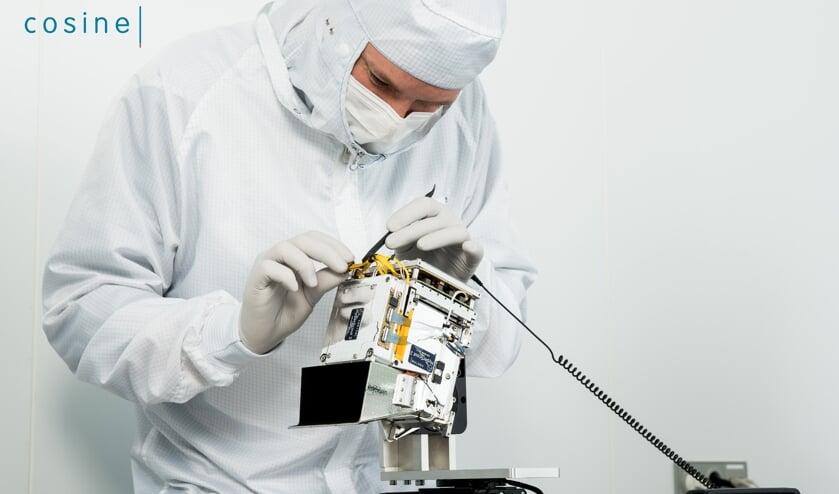De miniruimtecamera HyperScout-2 is in Warmond ontwikkeld. | Foto: pr./cosine