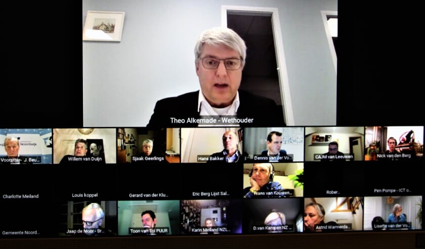 <p>In de digitale vergadering over de Woonvisie moest wethouder Alkemade veel uitleg geven aan belanghebbenden.</p>