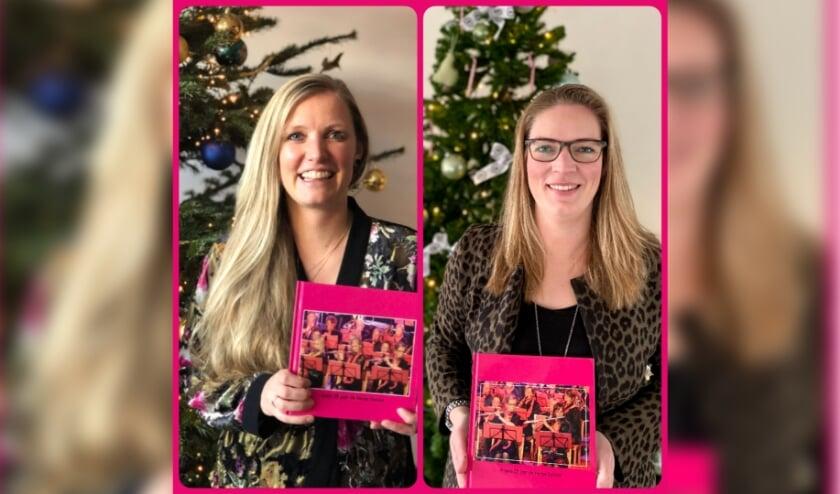 <p>Angela van der Voet (l) en Lydia Kramer. | Foto: pr.</p>