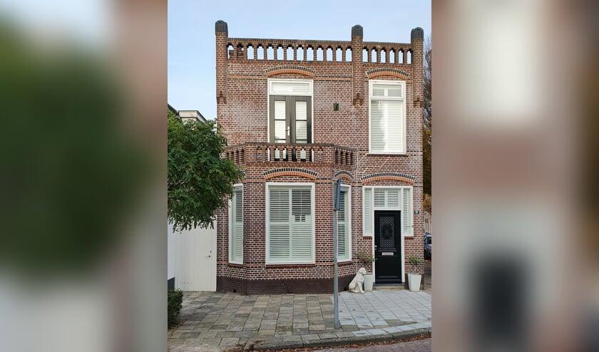<p>Het pand Wagendwarsstraat 20 uit ca. 1910. | Foto: Jos van Bourgondi&euml;n</p>